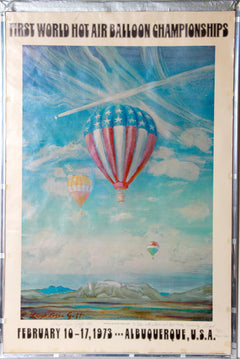 Lloyd Lozes Goff, First World Hot Air Balloon Championships Poster - RoGallery