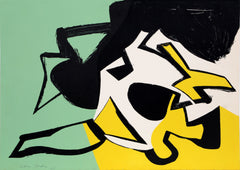 Sidney Gordin, Untitled - Abstraction Lithograph - RoGallery