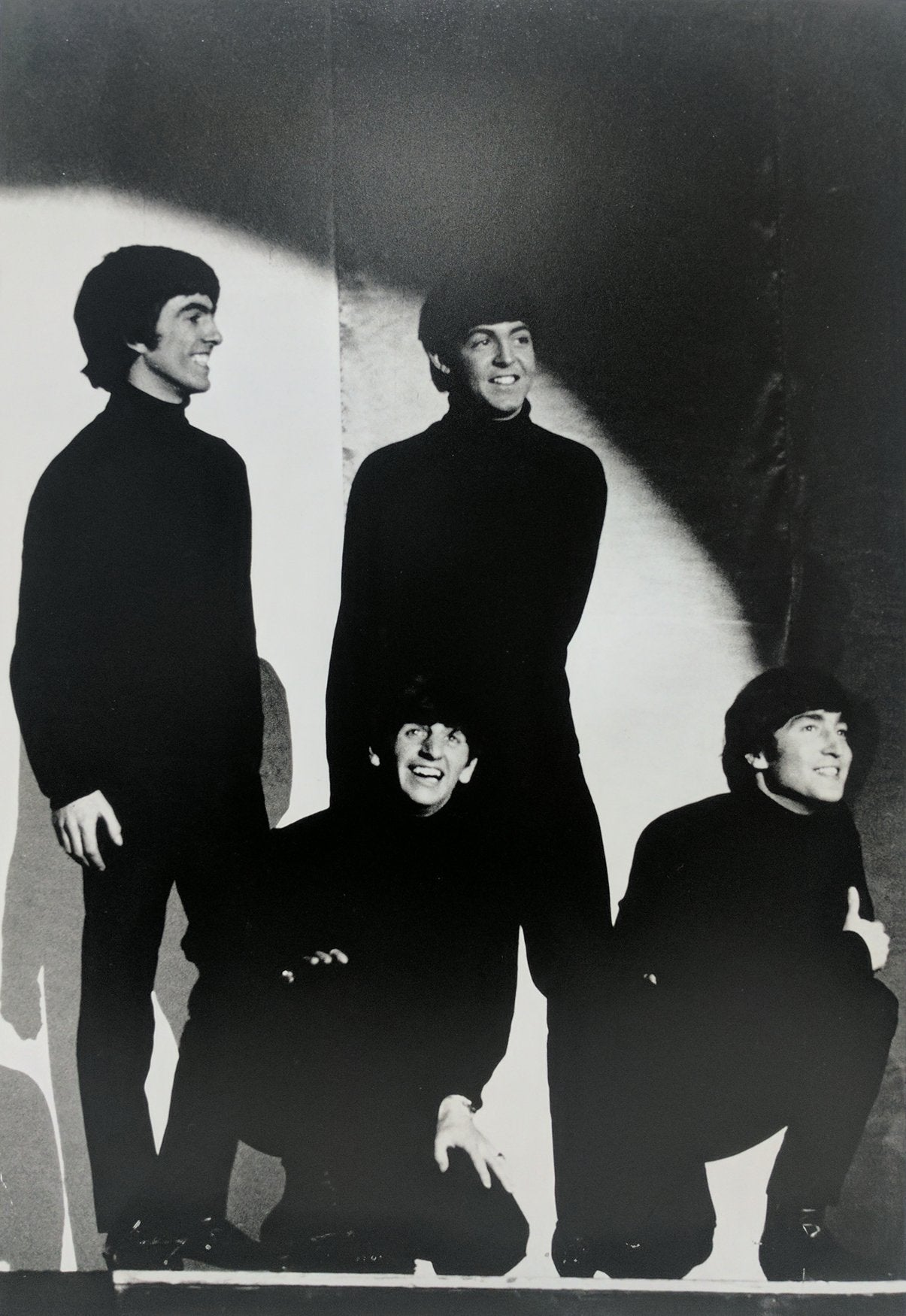 Shahrokh Hatami, The Beatles, Liverpool Black and White - RoGallery
