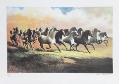 Helen Hayse, The Gray Stallion Lithograph - RoGallery