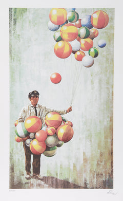 Vic Herman, High Hopes Lithograph - RoGallery