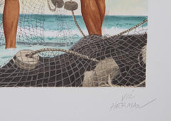 Vic Herman, Network of Life Lithograph - RoGallery