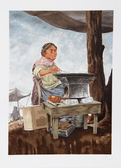 Vic Herman, Our Daily Bread Lithograph - RoGallery