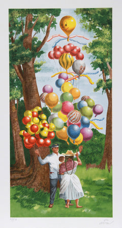 Vic Herman, The Balloon On Top Please Lithograph - RoGallery