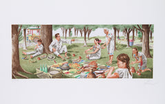Vic Herman, Tortillas are the Stuff of Life Lithograph - RoGallery
