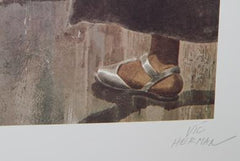Vic Herman, Wedding in De Juantapec Lithograph - RoGallery