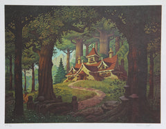 Brothers Hildebrandt, House at Rivendell Lithograph - RoGallery