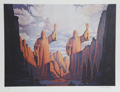 Brothers Hildebrandt, The Argonath Lithograph - RoGallery