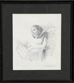 Douglas Hofmann, Beverly with Ferns Pencil - RoGallery