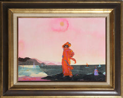 Alvin Carl Hollingsworth, Standing by the sea Oil - RoGallery