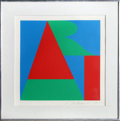 Robert Indiana, ART from the On the Bowery portfolio Screenprint - RoGallery