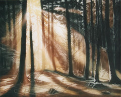Susan Jameson, Autumn Forest Etching - RoGallery