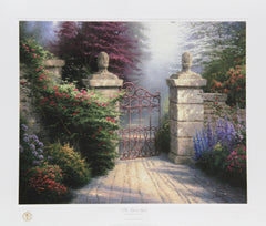 Thomas Kinkade, The Open Gate Lithograph - RoGallery