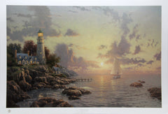 Thomas Kinkade, The Sea of Tranquility Lithograph - RoGallery