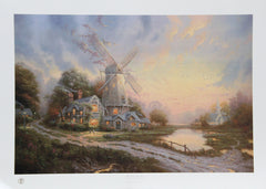 Thomas Kinkade, The Wind of the Spirit Lithograph - RoGallery