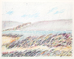 Sybil Kleinrock, Untitled - Seascape Lithograph - RoGallery