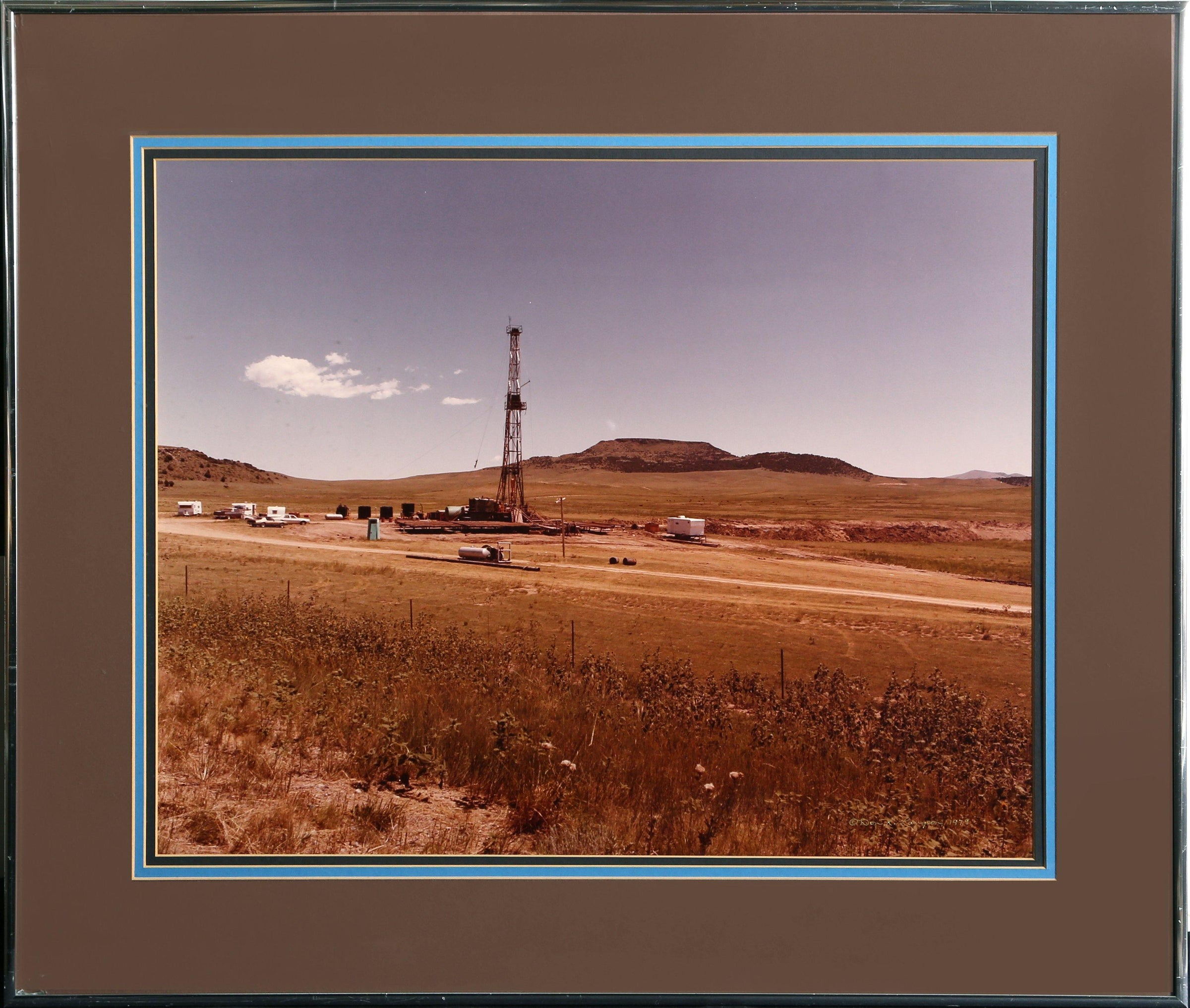 Don K. Langson, Oil Well 1 Color - RoGallery