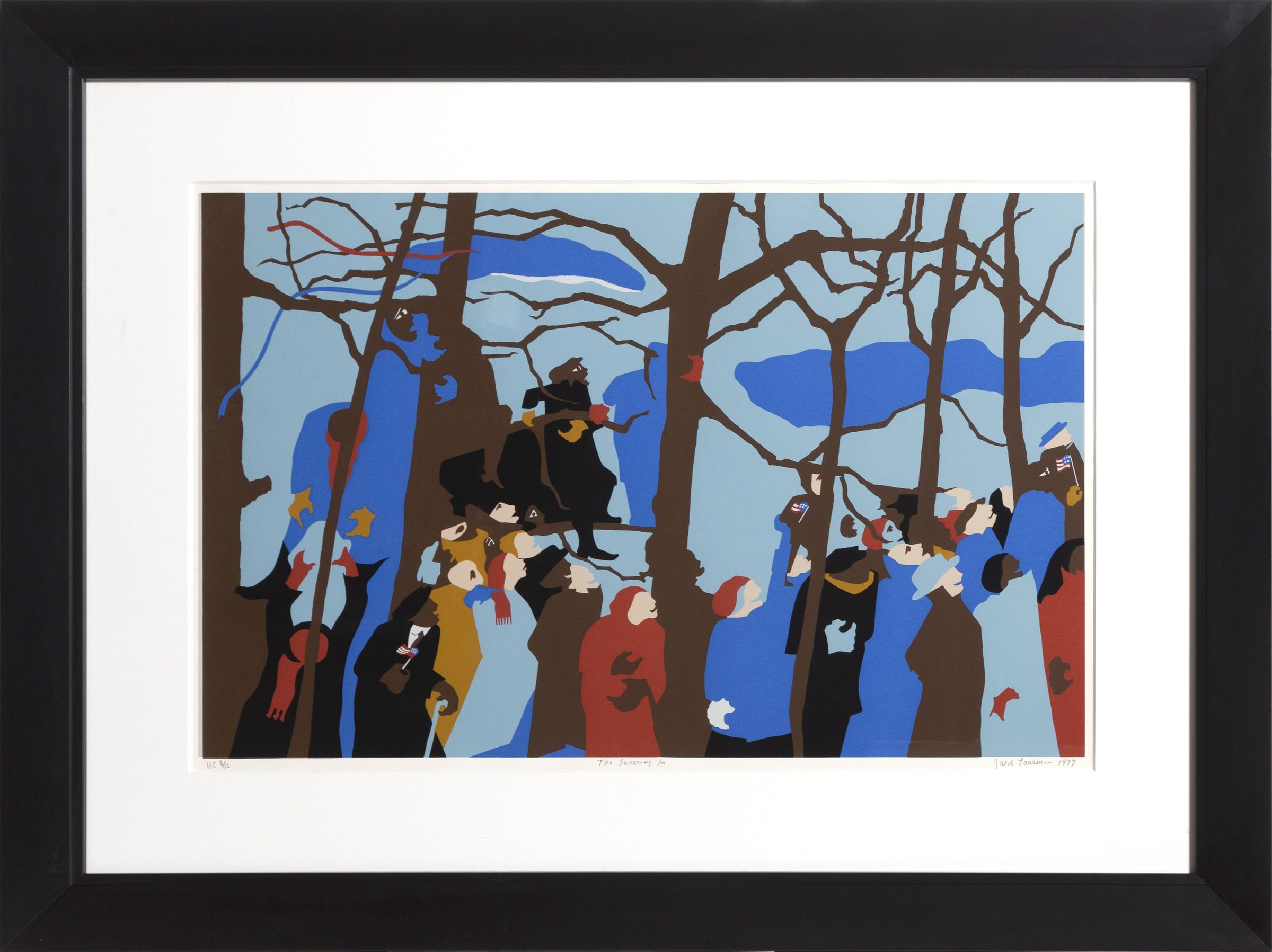 The Swearing In Jacob Lawrence Rogallery