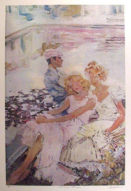 Dick Lewis, Summer Three Lithograph - RoGallery