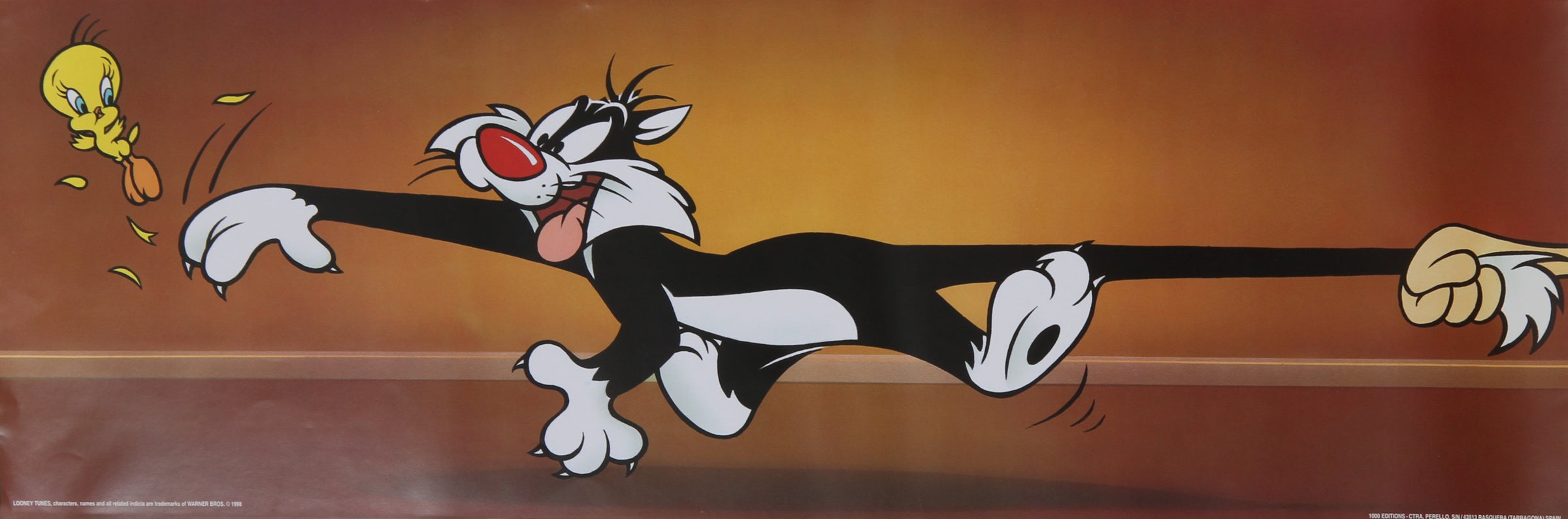 Warner Bros. Cartoons, Sylvester and Tweety Poster - RoGallery