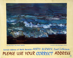 William MacTaggart, GPO - North Berwick, East Lothian - Correct Address Poster - RoGallery