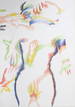Marisol Escobar, Rainbow People Lithograph - RoGallery