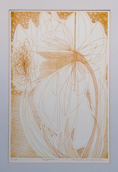 Sandra Melcher, Daffodils Etching - RoGallery