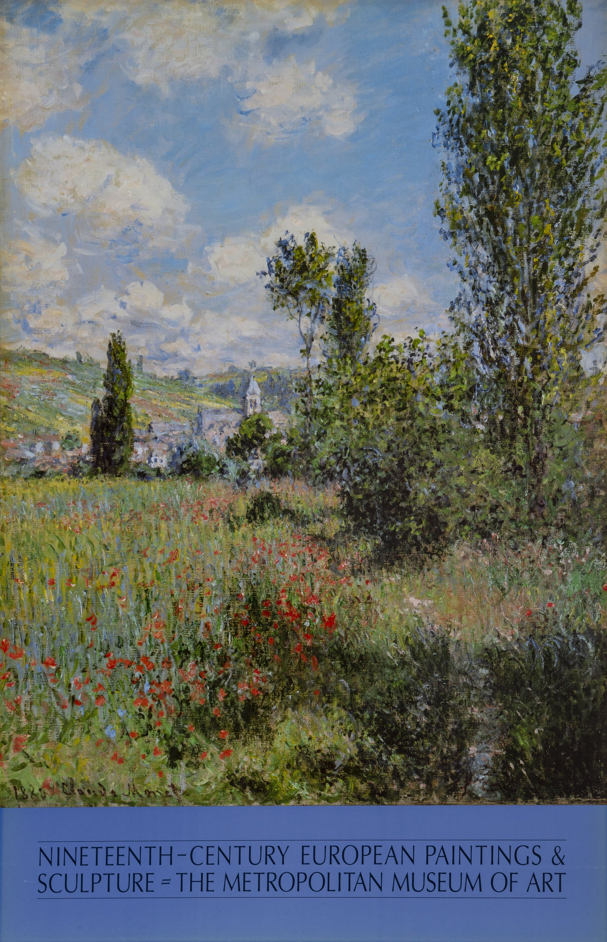 Claude Monet, 19th Century European Paintings at the Met Poster - RoGallery