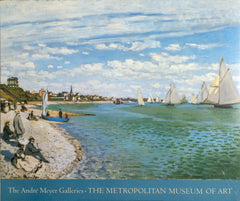 Claude Monet, Andre Meyer Galleries - The Beach at Sainte-Adresse Poster - RoGallery