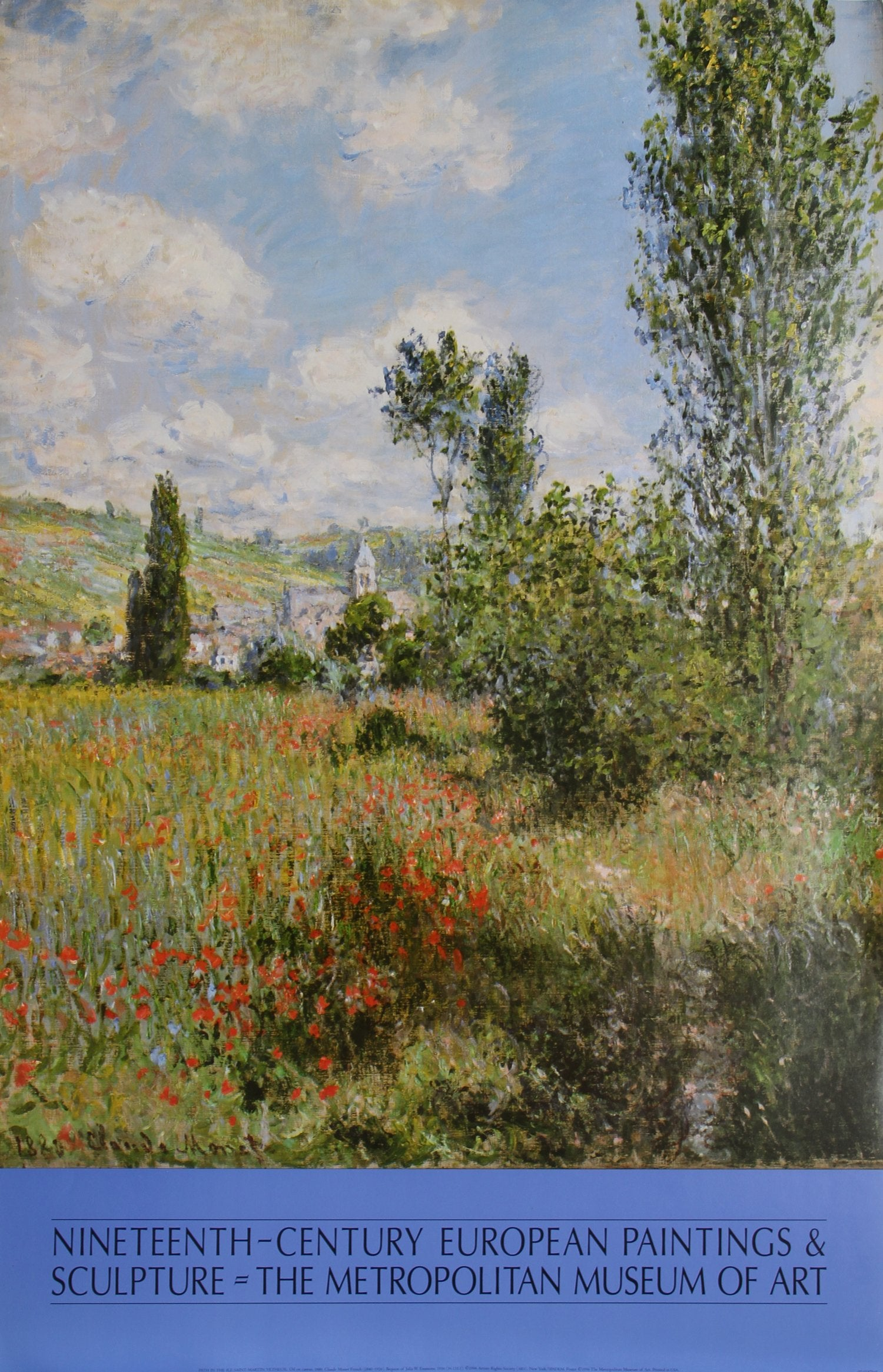 Claude Monet, Path in the Saint-Martin Vetheuil Poster - RoGallery