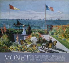 Claude Monet, The Metropolitan, 19th Century Paintings - Terrace on the Seaside Poster - RoGallery