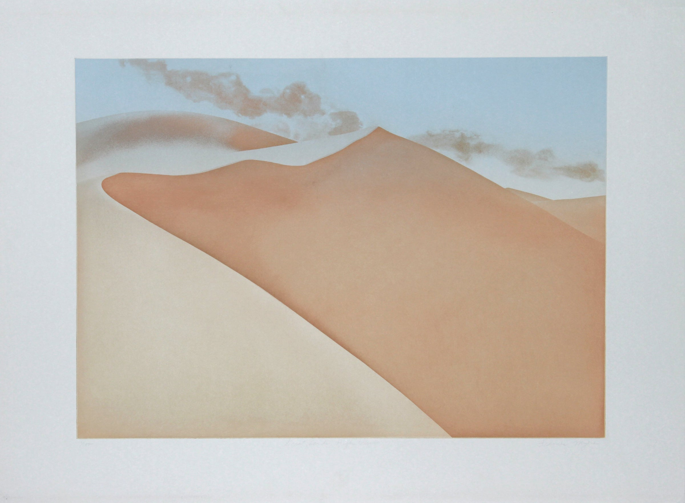 Frances Myers, Great Sands, High View Etching - RoGallery
