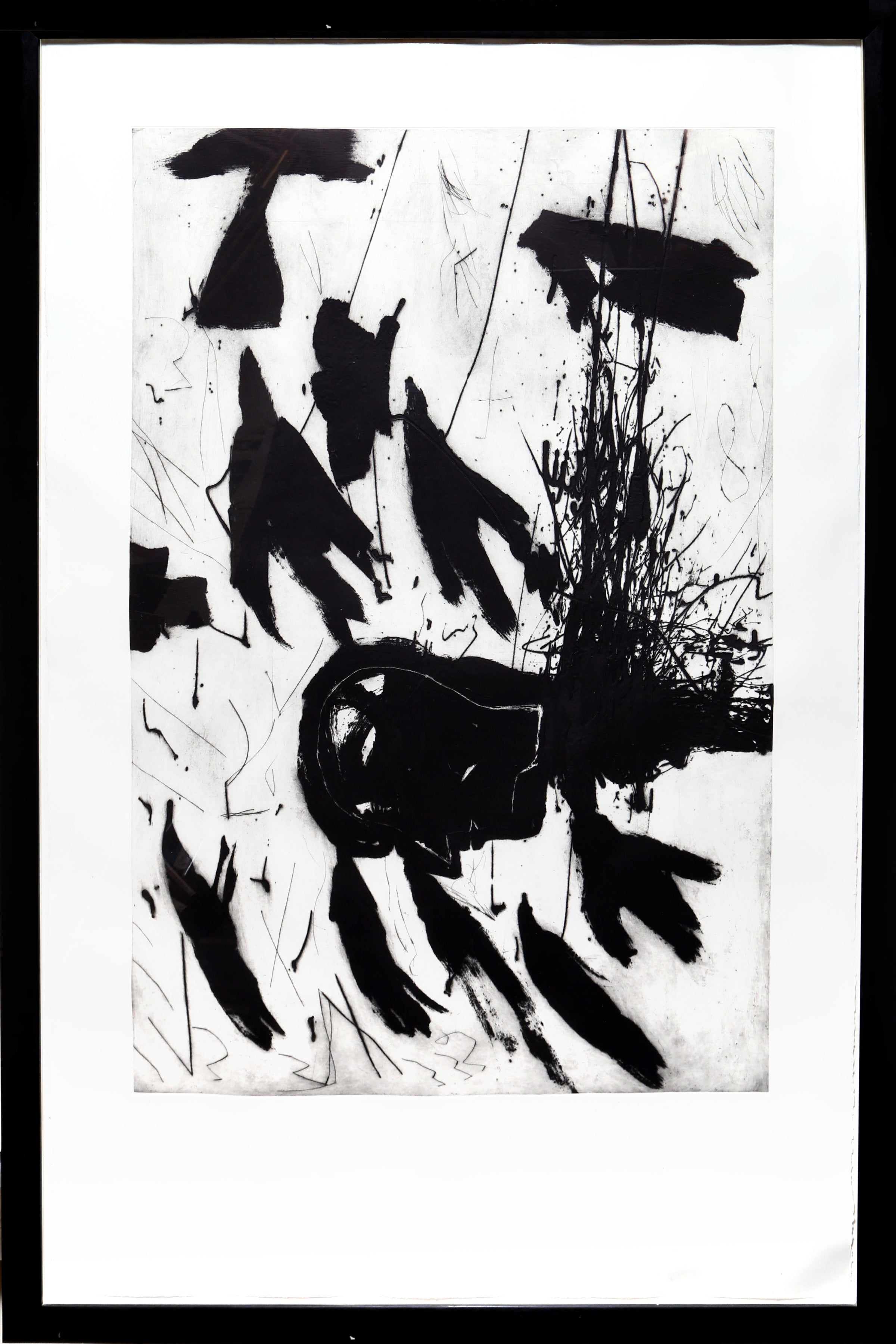 Mimmo Paladino, Sirene - Triptych No. 3 Etching - RoGallery