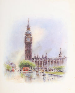 Asterio Pascolini, Big Ben Palace of Westminster London Poster - RoGallery