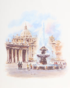 Asterio Pascolini, St. Peter's Basilica Rome Poster - RoGallery