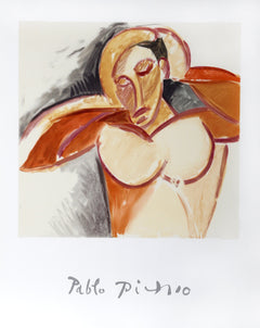 Pablo Picasso, Buste d'Homme Lithograph - RoGallery