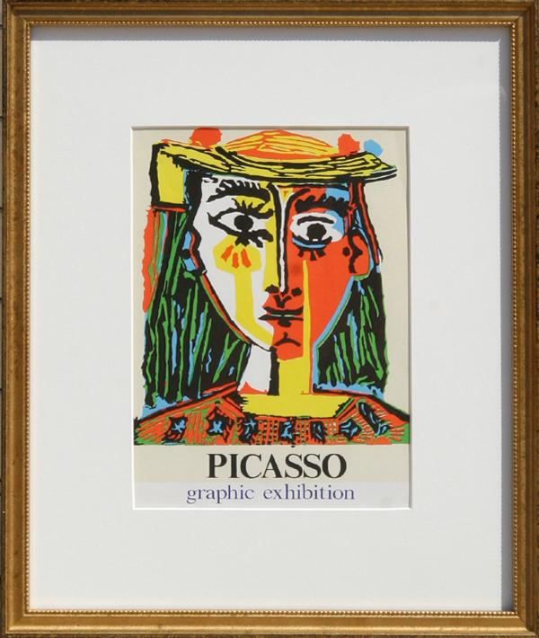 Pablo Picasso, Graphic Exhibition: Gallery International Poster - RoGallery