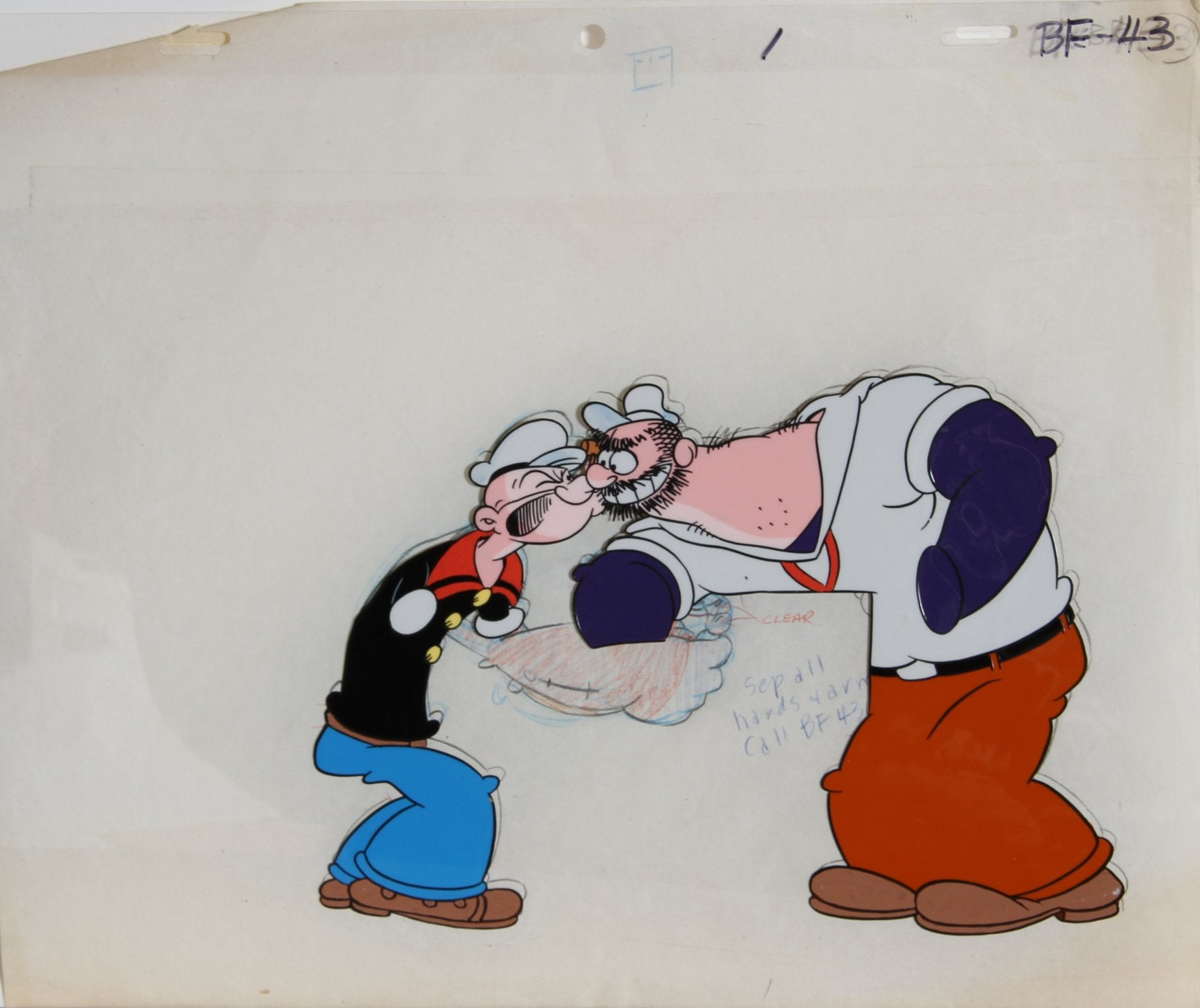 Bud Sagendorf, Popeye 2 Comic Book / Animation - RoGallery