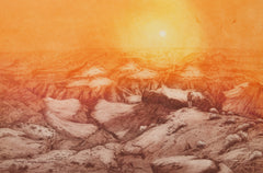 Roy Purcell, Grand Canyon II Etching - RoGallery