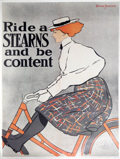 Edward Penfield, Ride a Stearns and Be Content - Metropolitan Museum of Art Poster - RoGallery