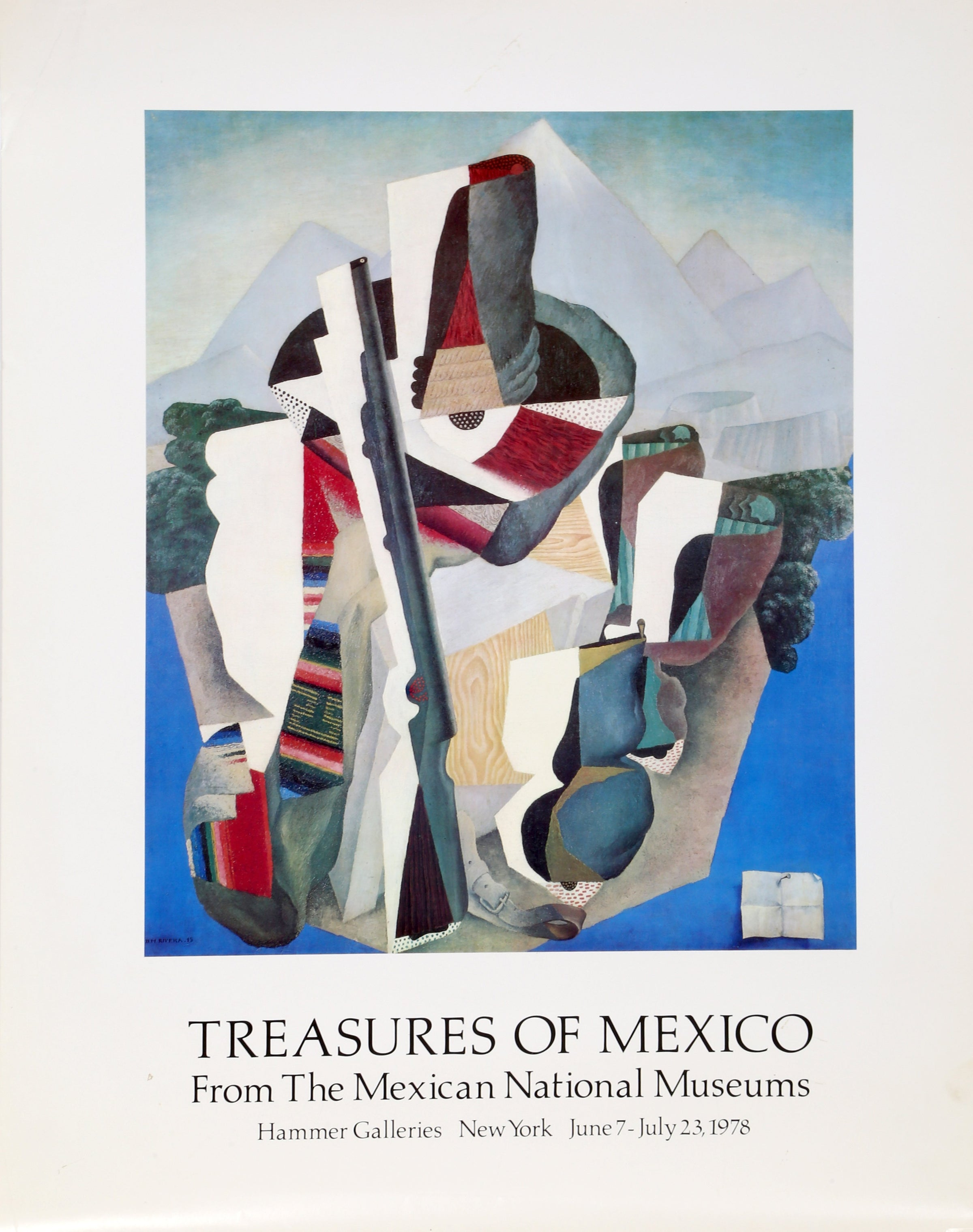 Diego Rivera, Treasures of Mexico Poster - RoGallery