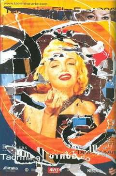 Mimmo Rotella, Omaggio a Marilyn (A Tribute to Marilyn) #2 Screenprint - RoGallery