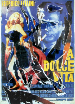 Mimmo Rotella, The Dance of Anita and Marcello Screenprint - RoGallery