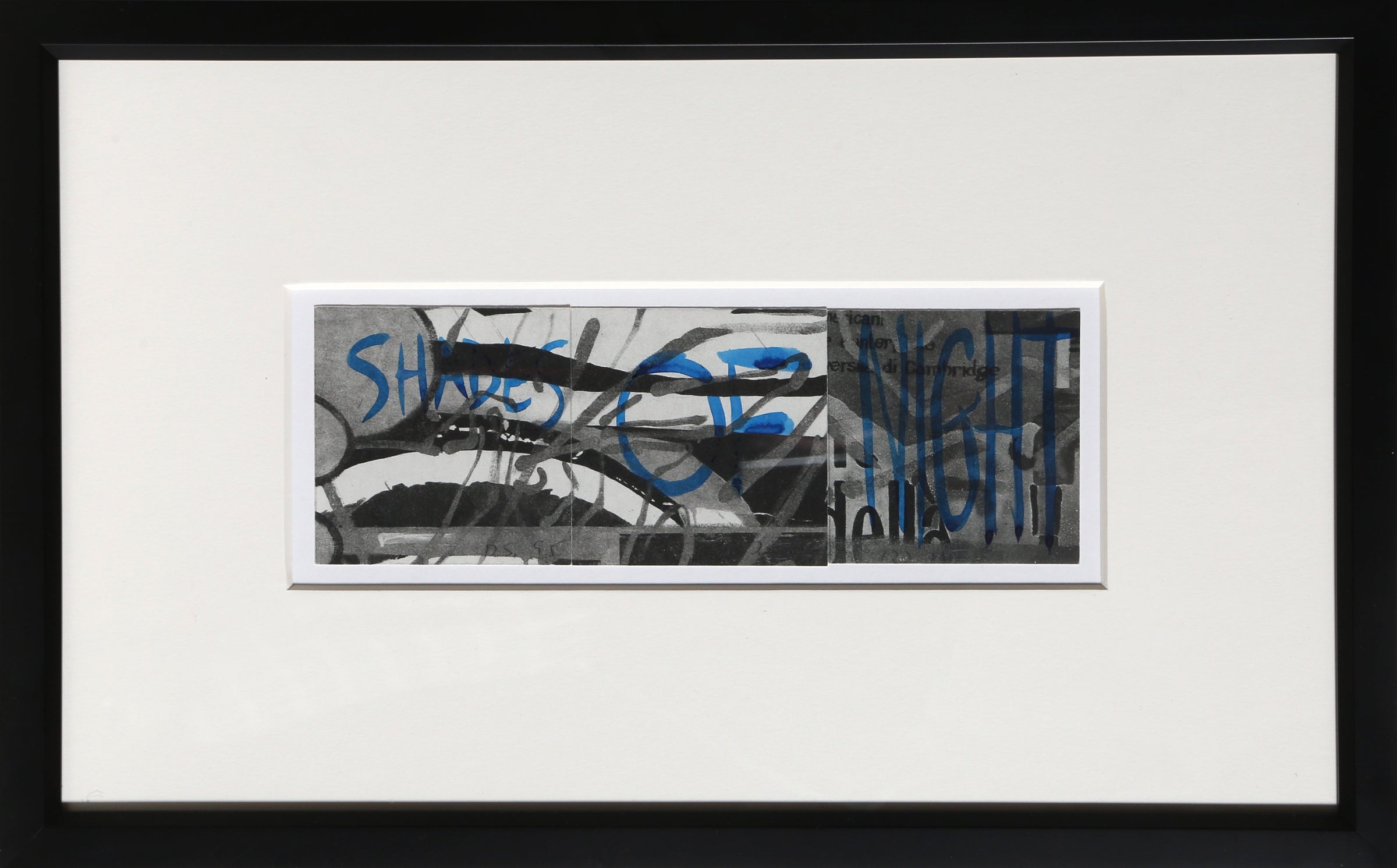 David Salle, Shades of Night Watercolor - RoGallery
