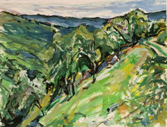 Alfred Sandford, Down the Hill No. 1 Acrylic - RoGallery