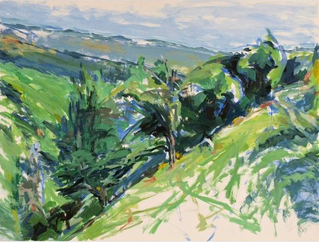 Alfred Sandford, Down the Hill No. 2 Acrylic - RoGallery