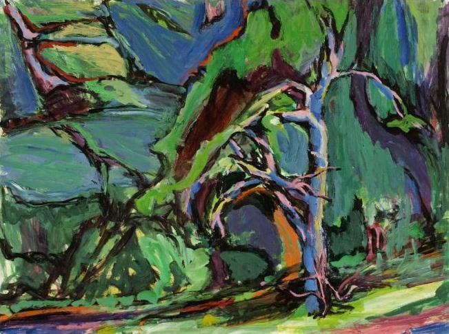 Alfred Sandford, In the Woods No. 2 Acrylic - RoGallery