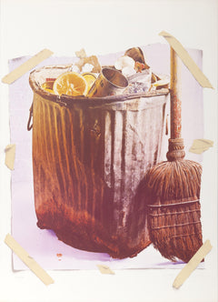 Paul Sarkisian, Trash Can Lithograph - RoGallery