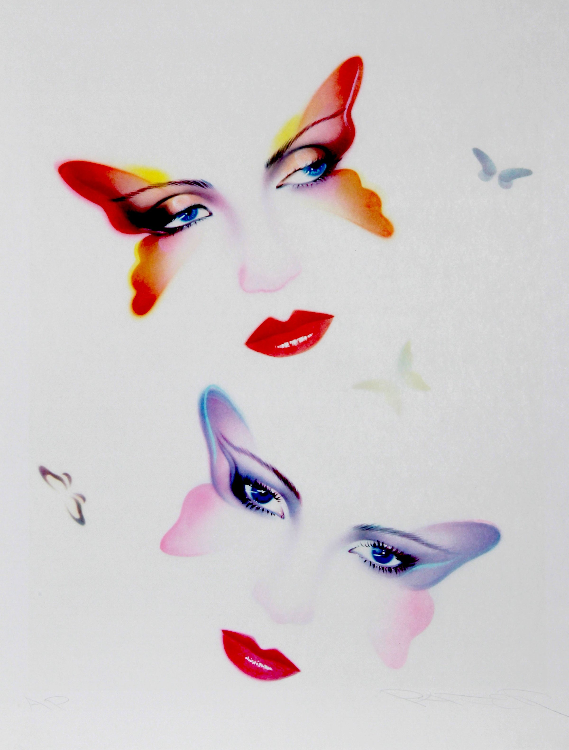 Pater Sato, Butterflies Lithograph - RoGallery