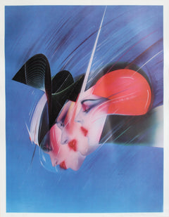 Pater Sato, Space Stirs Lithograph - RoGallery